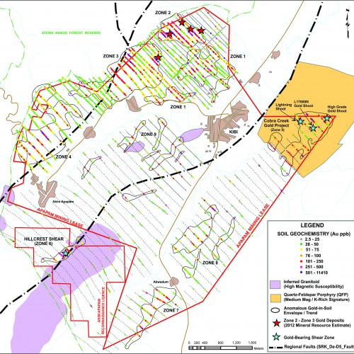 Apapam Concession Geology